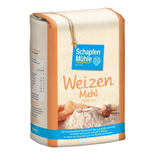 Weizenmehl Type 550, 2,5 kg