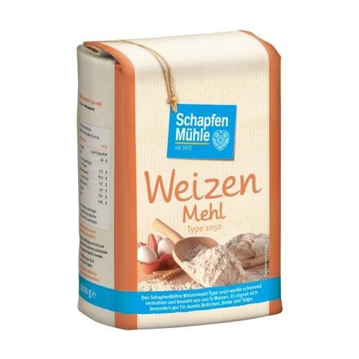 Weizenmehl Type 1050, 1 kg