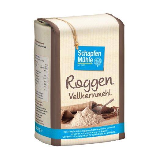 Roggenvollkornmehl, 1 kg