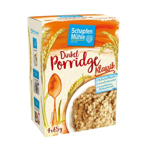 Dinkel Porridge Natur, 260 g