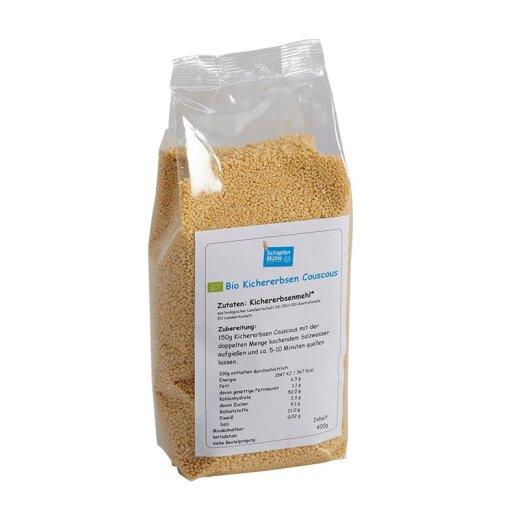 Bio Kichererbsen Couscous, 400 g
