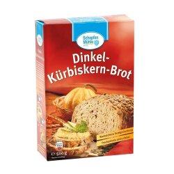 Dinkel-Kürbiskern-Brot, Tray mit 7 Einzelpackungen